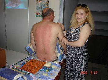 Применение аппликатора коврика Ляпко